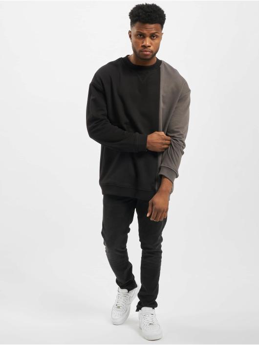 Urban Classics Pullover Side Block Crew schwarz