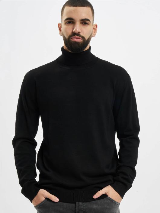 Urban Classics Pullover Basic Turtleneck schwarz