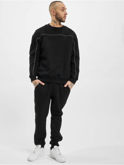 Urban Classics Pullover Reflective Crew schwarz