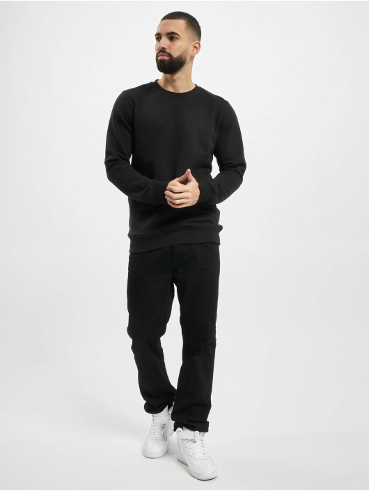 Urban Classics Pullover Organic Basic Crew schwarz