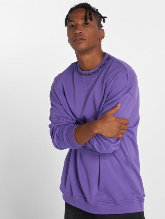 Urban Classics Pullover Oversize Logo violet