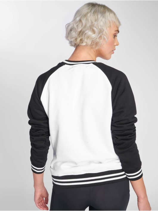 Urban Classics Pullover Contrast College weiß