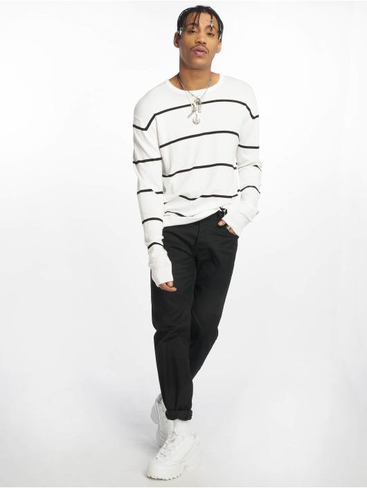 Urban Classics Pullover Line weiß