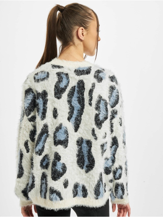 Urban Classics Pullover Ladies Leo weiß