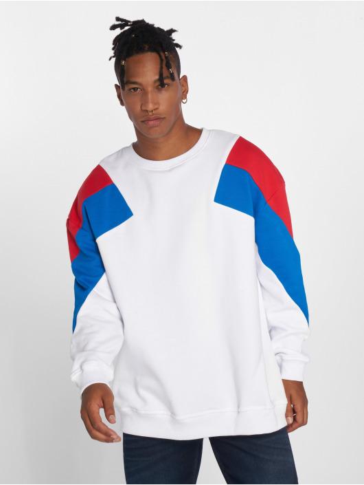 Urban Classics Pullover Oversize 3-Tone white