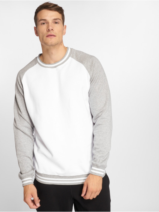 Urban Classics Pullover Contrast College white