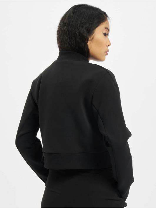 Urban Classics Pulóvre Ladies Interlock Short èierna
