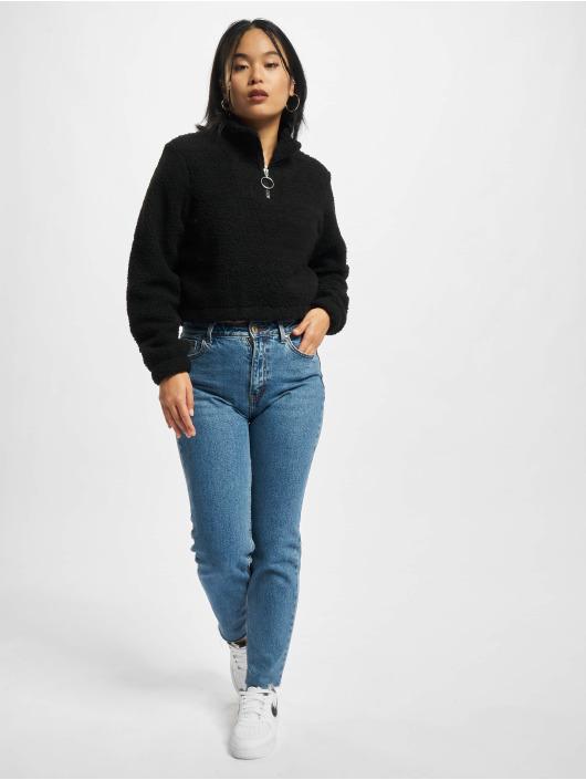 Urban Classics Pulóvre Ladies Short èierna