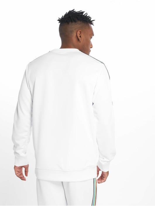 Urban Classics Pulóvre Sleeve Taped biela