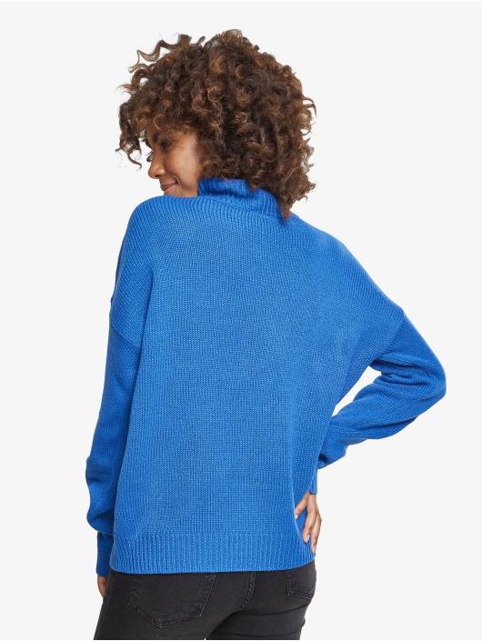 Urban Classics Pulóvre Ladies Oversize modrá