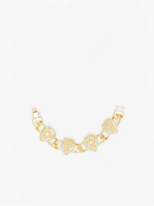 Urban Classics Pulsera Lion Bracelet oro