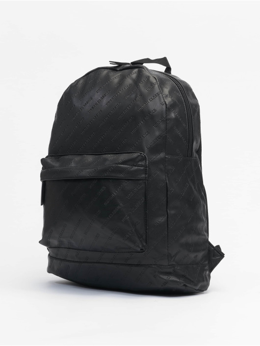 Urban Classics Reput Imitation Leather musta