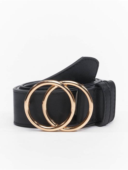Urban Classics riem Ring Buckle zwart