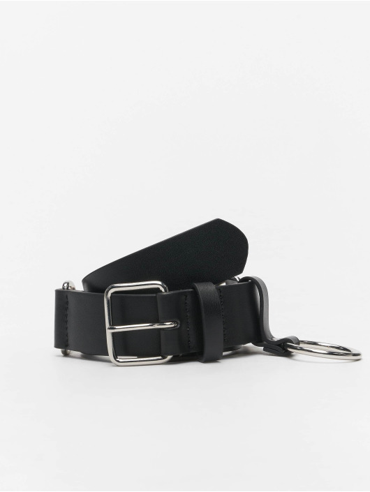 Urban Classics riem Chain Imitation Leather zwart