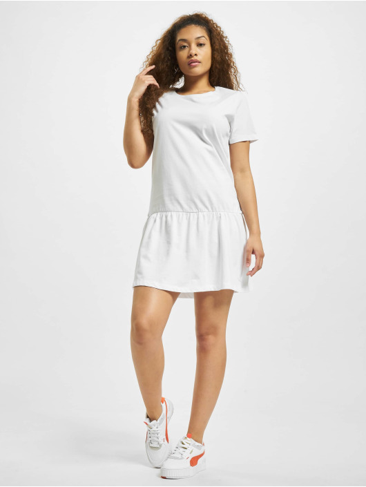 Urban Classics Robe Valance blanc