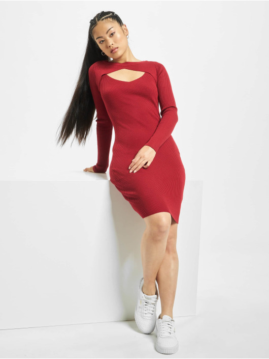 Urban Classics Robe Cut Out rouge