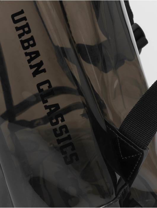 Urban Classics Rucksack Transparent schwarz