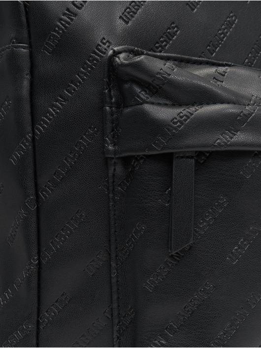 Urban Classics Rucksack Imitation Leather schwarz