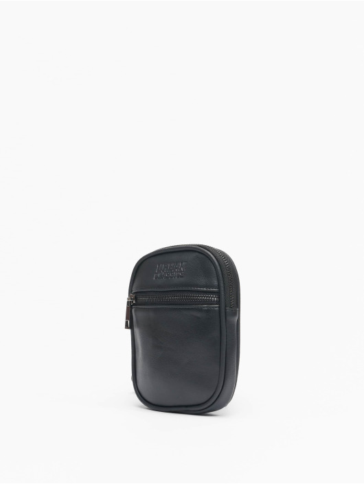 Urban Classics Sac Imitation Leather Neckpouch noir