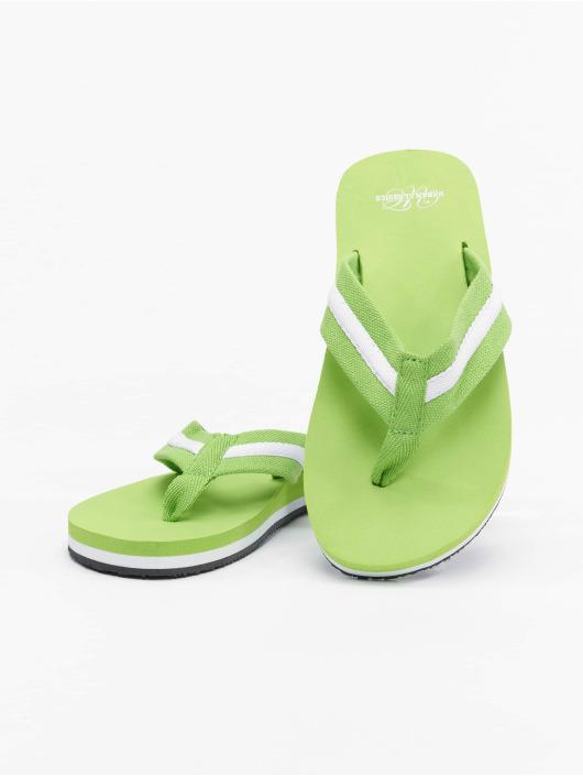 Urban Classics Sandalen Beach Slippers grün