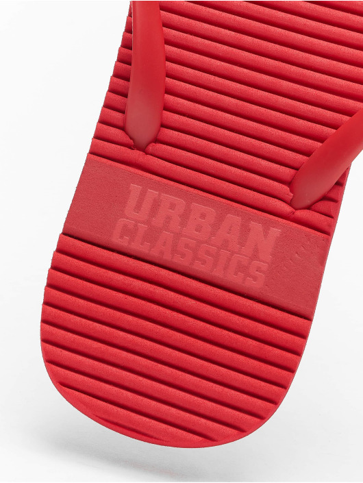 Urban Classics Sandalen Basic rot