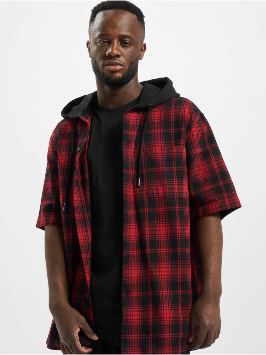 Urban Classics Shirt Hooded black