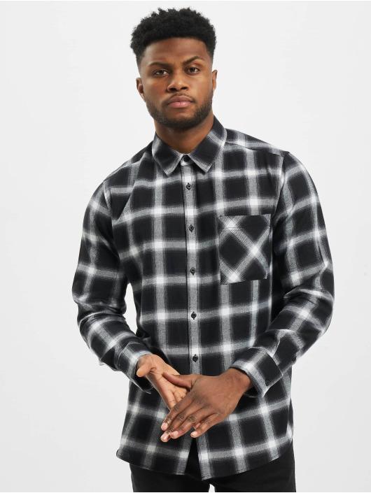 Urban Classics Shirt Oversized Checked black