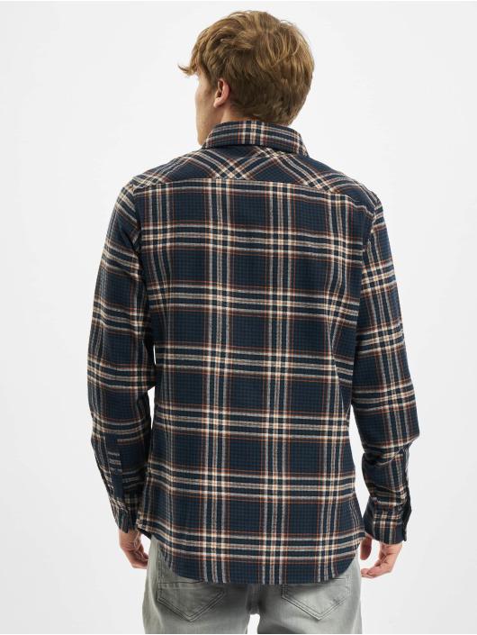 Urban Classics Shirt Checked Campus blue