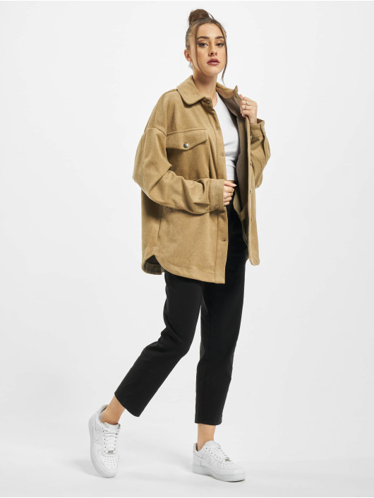 Urban Classics Shirt Ladies Classic brown