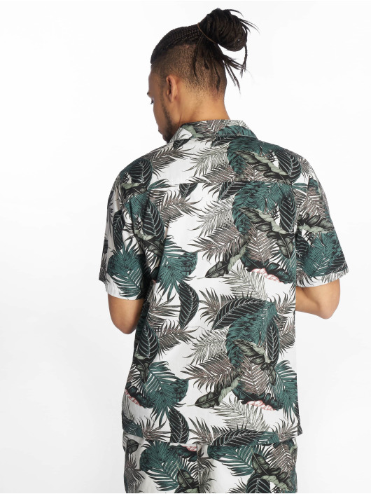 Urban Classics Shirt Pattern Resort green