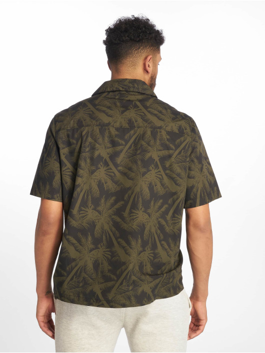 Urban Classics Shirt Pattern Resort olive