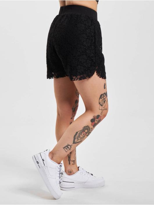 Urban Classics Short Laces black