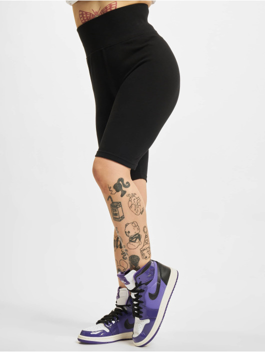 Urban Classics Short High Waist Cycle black