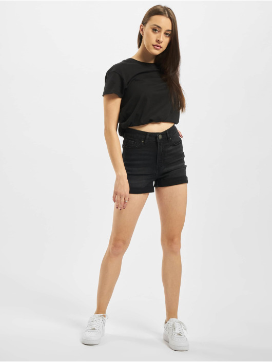 Urban Classics Short Ladies 5 Pocket black