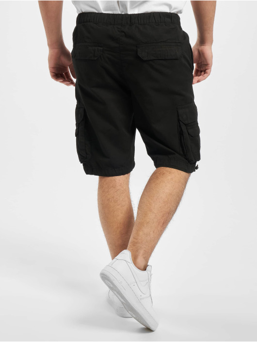 Urban Classics Short Double Pocket black
