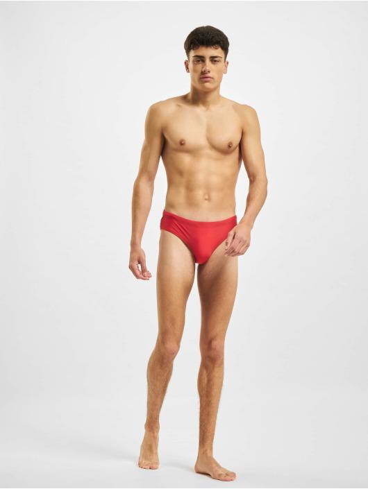 Urban Classics Short de bain Basic Swim rouge