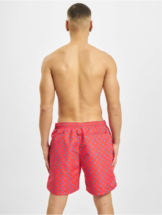 Urban Classics Short de bain Pattern  rouge