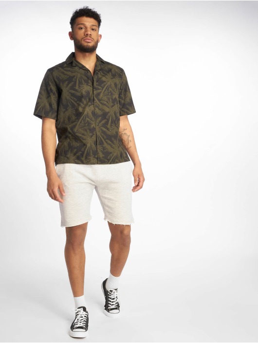 Urban Classics Short Herringbone Terry gray