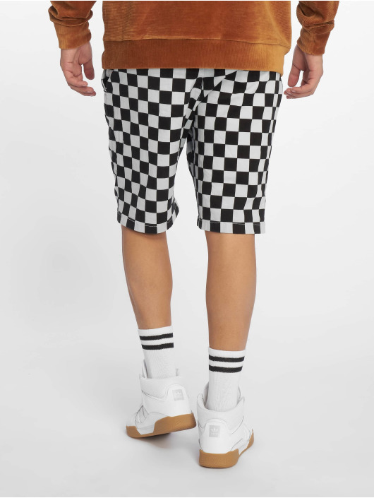 Urban Classics Short Check Twill gray