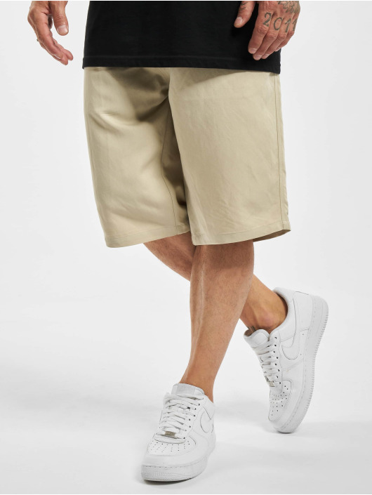 Urban Classics Short Viscose Twill gray
