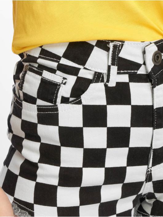 Urban Short Check Noir Classics 638247 Femme Twill 80NvOymnw