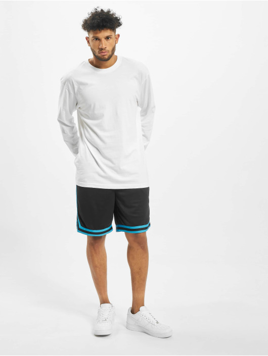 Urban Classics Short Stripes Mesh noir