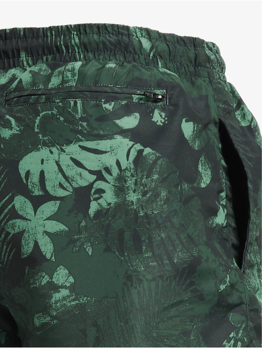 Urban Classics Short Jungle Flower 2-Pack olive