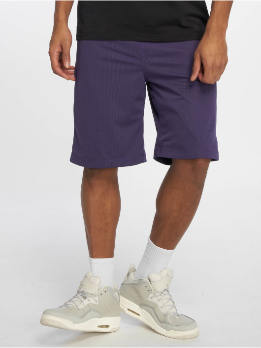 Urban Classics Short Kids Bball Mesh purple