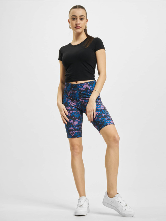 Urban Classics Short High Waist Camo Tech Cycle purple