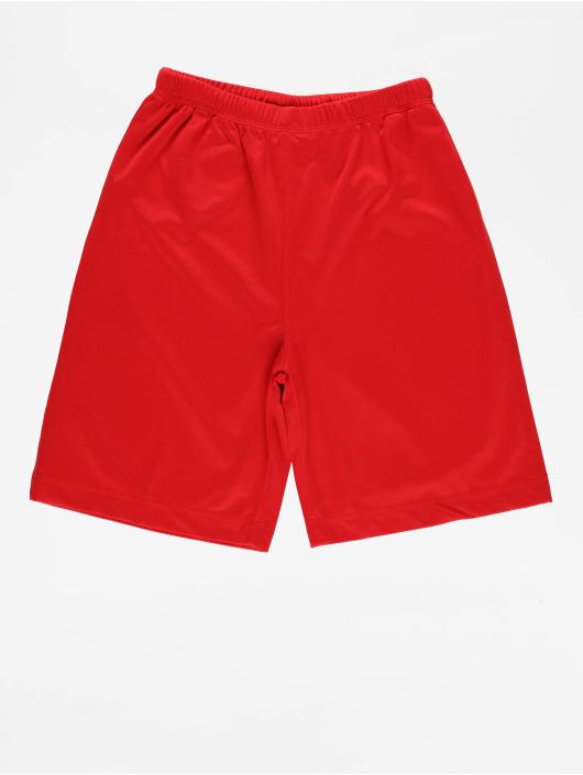 Urban Classics Short Kids Bball Mesh rouge