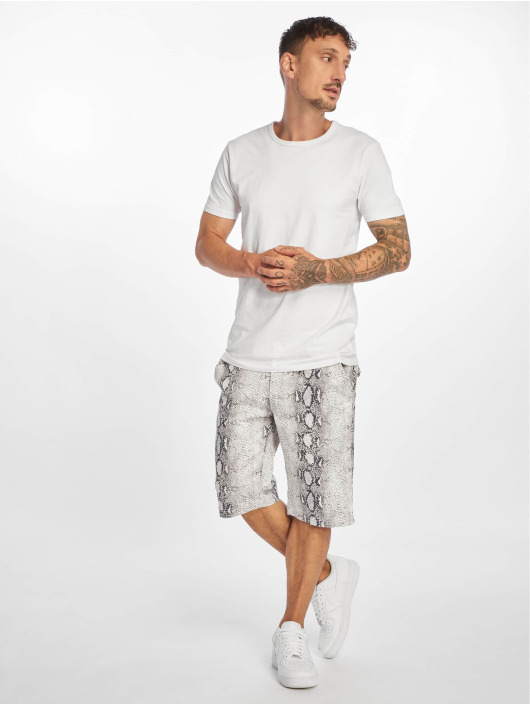 Urban Classics Short Stretch white