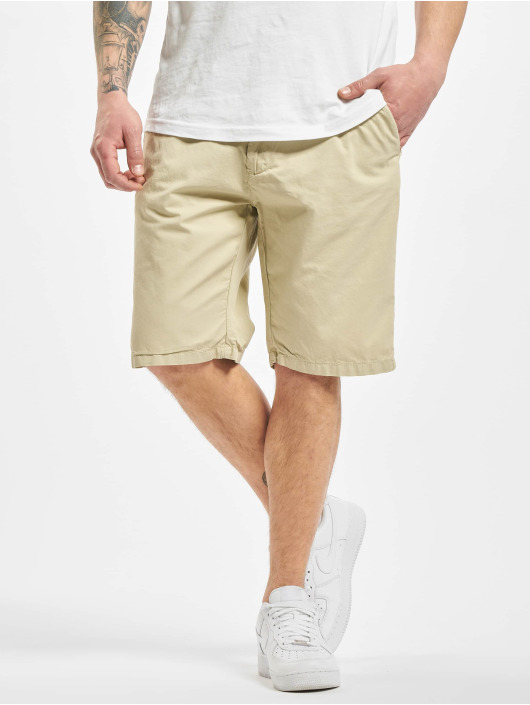 Urban Classics Shorts Straight Leg Chino With Belt beige