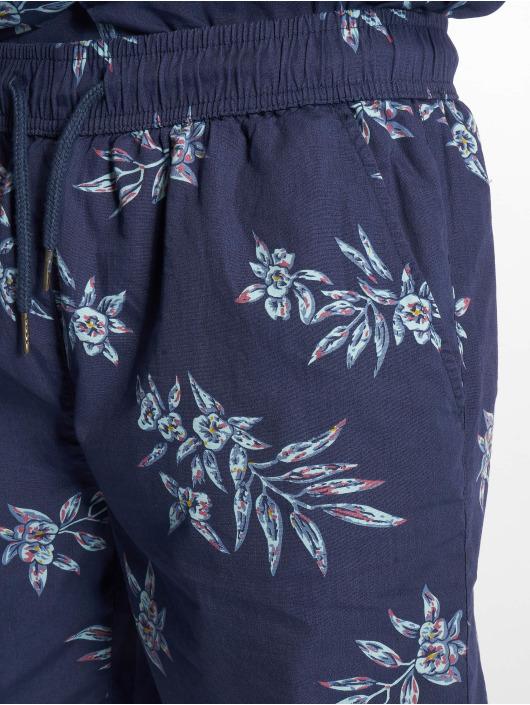 Urban Classics Shorts Pattern Resort blau