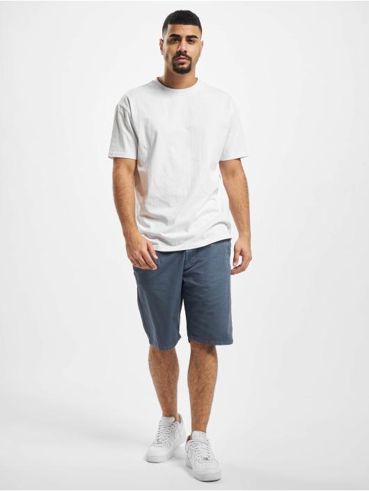Urban Classics Shorts Straight Leg Chino With Belt blau